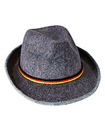 Gray Bavarian Hat