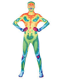 Kids Infrared Skin Suit Costume