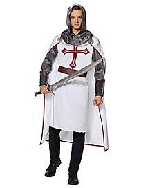 Adult Medieval Templar Costume