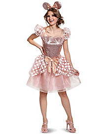 Adult Minnie Mouse Deluxe Costume Dress - Disney