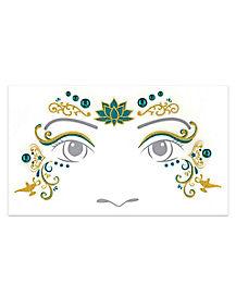 Jasmine Face Decal - Aladdin