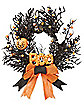 Vintage Boo Wreath