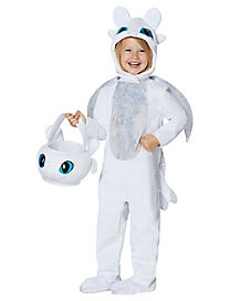 Toddler Light Fury Costume - How to Train Your Dragon