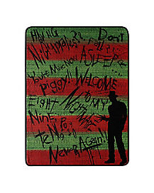 Freddy Krueger Fleece Blanket – Nightmare on Elm Street