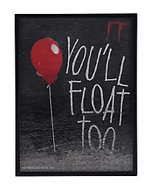 You'll Float Too 3D Frame - IT