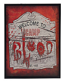Camp Crystal Lake 3D Frame - Friday the 13th