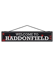 Welcome to Haddonfield Sign - Halloween