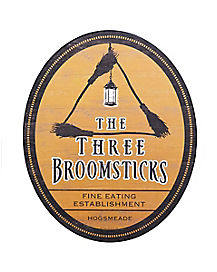 The Three Broomsticks Sign - Harry Potter