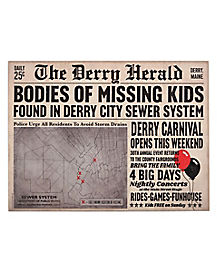 Derry Herald Newspaper Sign - IT
