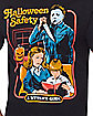 Halloween Safety Michael Myers T Shirt - Halloween