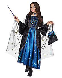 Kids Midnight Sorceress Costume