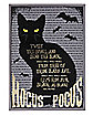Light-Up Binx Canvas Sign Decorations - Hocus Pocus