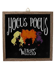 Witch's Brews Shadowbox  Decorations - Hocus Pocus