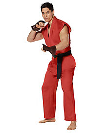 Adult Ken Masters Costume - Street Fighter