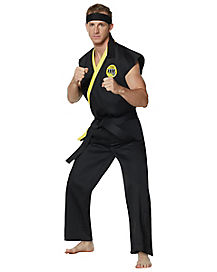 Adult Cobra Kai Johnny Costume - The Karate Kid