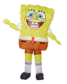 Adult SpongeBob SquarePants Inflatable Costume - Nickelodeon