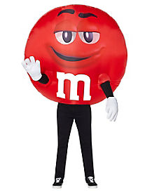Adult Red M&M Inflatable Costume