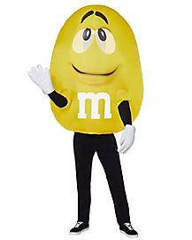 Adult Yellow M&M Inflatable Costume