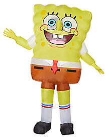 Kids SpongeBob SquarePants Inflatable Costume - Nickelodeon