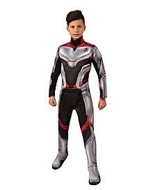 Kids Avengers Team Deluxe Costume - Avengers: Endgame