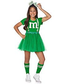 Tween Green M&M Costume Kit - M&M's