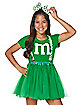 Teen Green M&M'S Costume Kit - M&M'S
