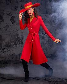 Adult Carmen Sandiego Costume