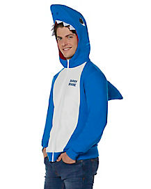 Adult Daddy Shark Costume Hoodie - Baby Shark
