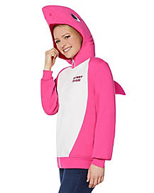 Adult Mommy Shark Costume Hoodie - Baby Shark