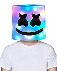 Light-Up Marshmello Mask