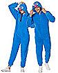 Adult Grover Pajama Costume - Sesame Street