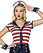Adult Sailor Romper Costume