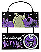 Wonderful Nightmare Sign - The Nightmare Before Christmas