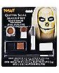 Gold Glitter Skull Makeup Kit