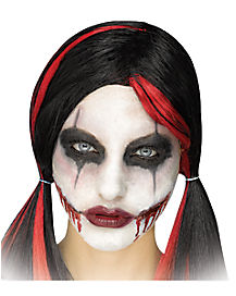 HORRIBLE SKIN WITCH HORROR ZOMBIE HALLOWEEN MAKE UP STAGE EFFECTS
