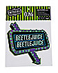 Beetlejuice Marquee Sign Cling