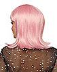 Pink Pageboy Wig