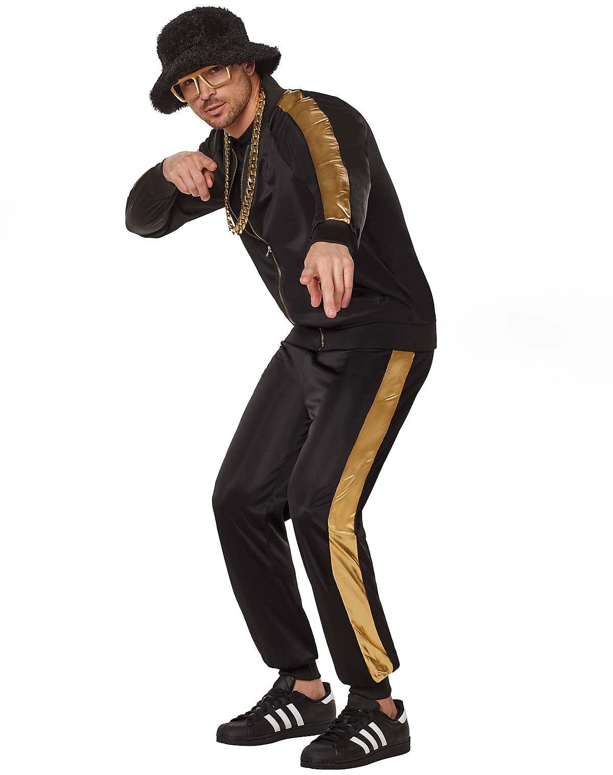 adult hip hop tracksuit costume