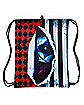 Scary Clown Cinch Bag