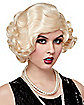 '20s Blonde Flapper Wig