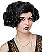 '20s Black Flapper Wig