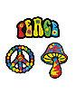 '60s Hippie Patch Set