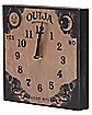 Wood Ouija Board Clock