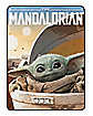 Child Arrived Fleece Blanket - The Mandalorian