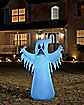 4 Ft LED Ghost Inflatable - Decorations