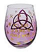 Hocus Pocus Trinity Stemless Glass - 22 oz.