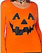 Cross Pumpkin Plus Size Sweatshirt