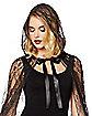 Adult Black Lace Cape