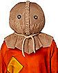 Deluxe Sam Burlap Full Mask - Trick 'r Treat