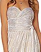 Adult White Endless Dress